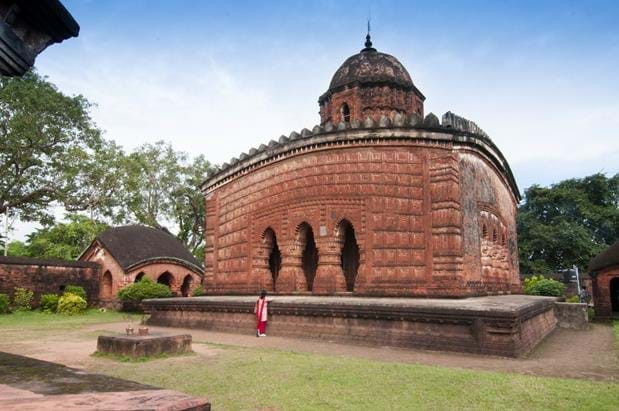 The Terracotta Temples of Bishnupur
