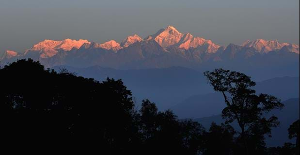 Sunrise at Pelling