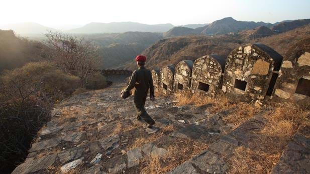 Walking India's 'Great Wall'