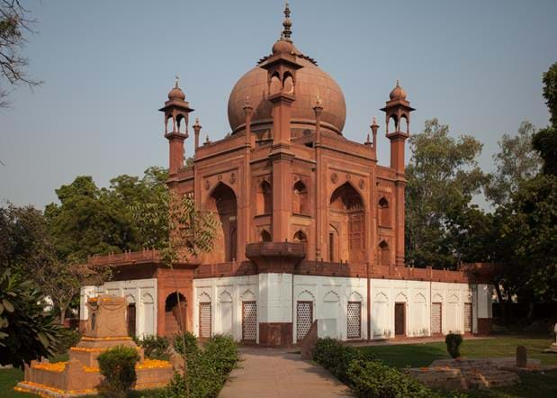 The 'Red Taj'
