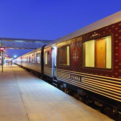 Maharajas' Express: Indian Panorama