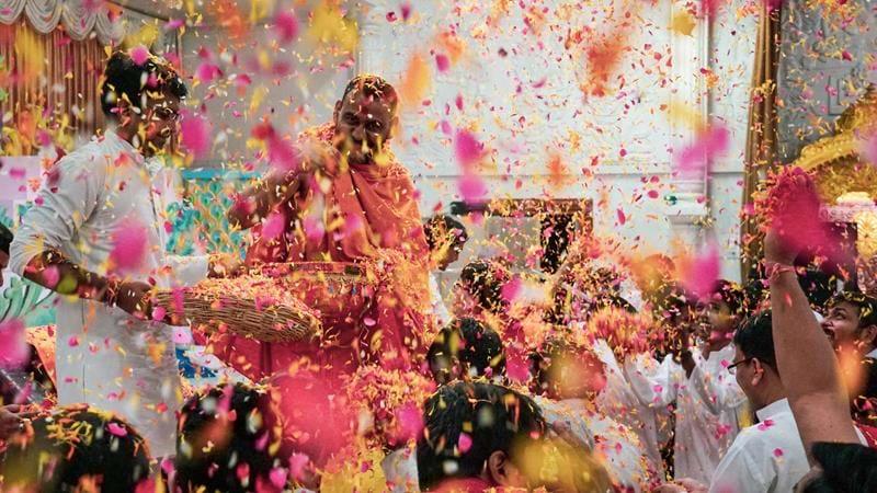 Holi Festival at Easter