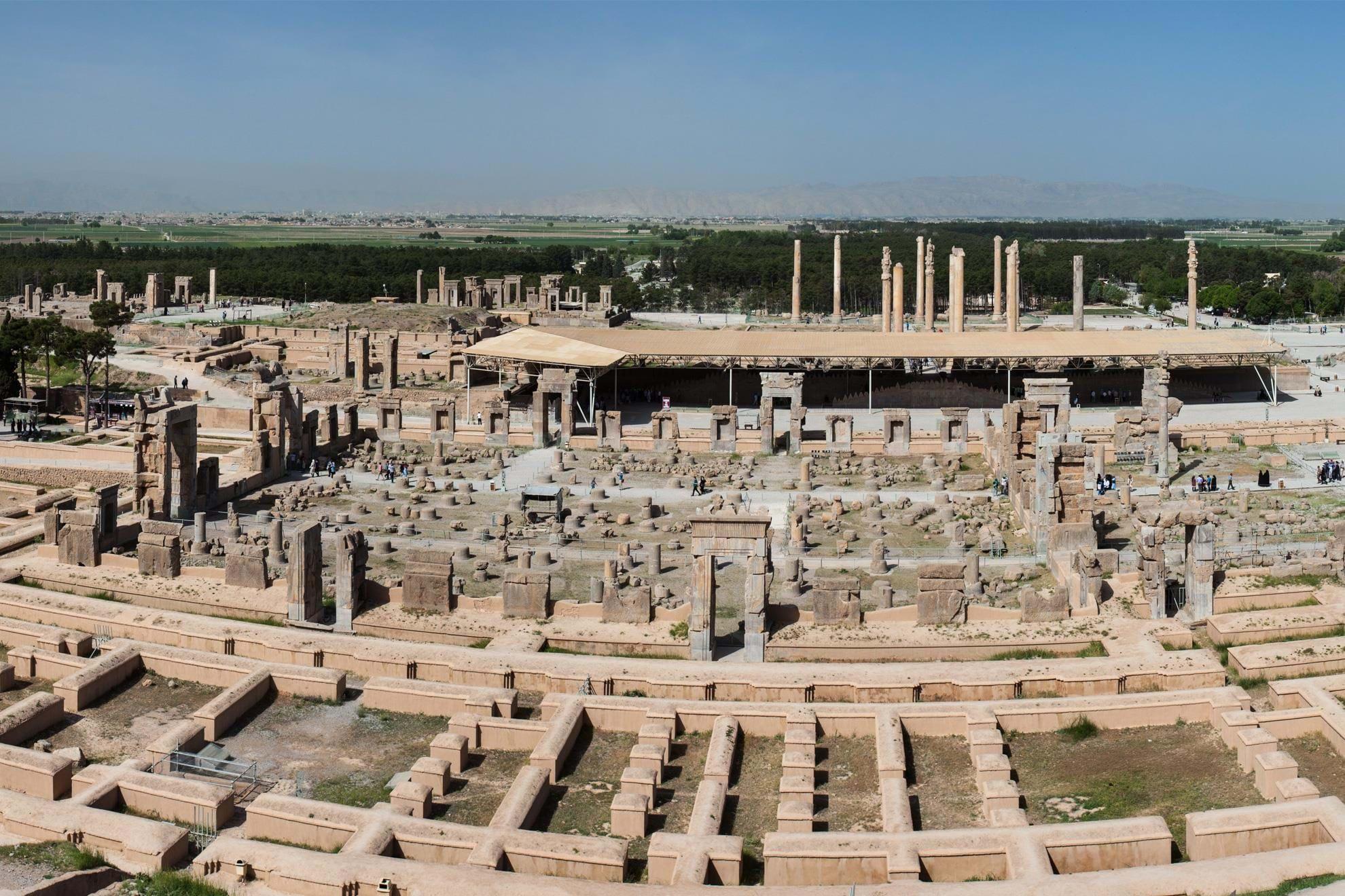 Small Group Tours Luxury Holidays To Persepolis Iran Transindus