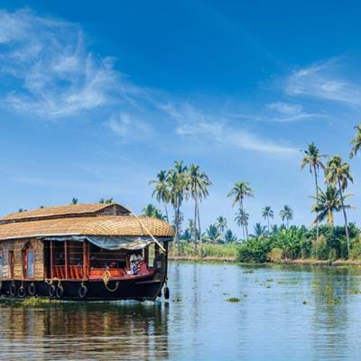 Cruising Kerala's Backwaters
