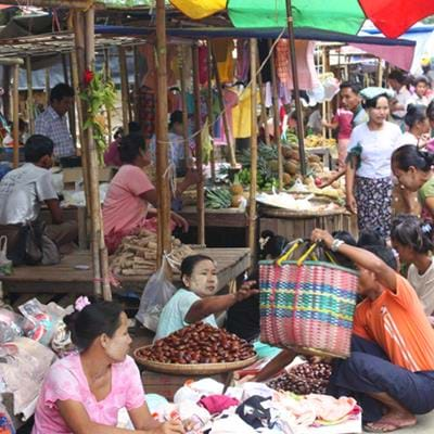 Discover the Markets of Myanmar