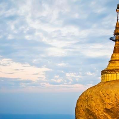 Myanmar's Golden Rock Stupa