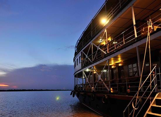 Cruise Pandaw: Saigon to Siem Reap